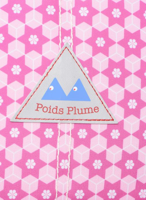 School bags Poids Plume CARTABLE 38CM STARS Pink view from the left