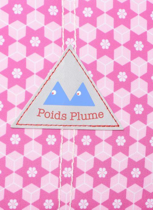 Schulzubehör Poids Plume CARTABLE 38CM STARS rosa ansicht von links