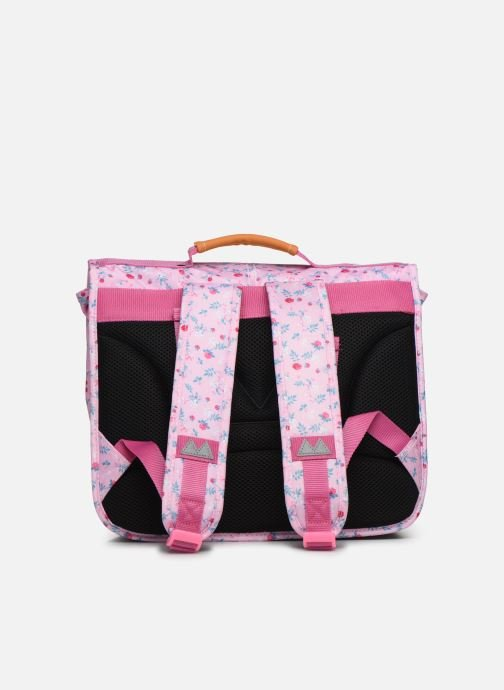 School bags Poids Plume CARTABLE 35CM LIBERTY Pink front view