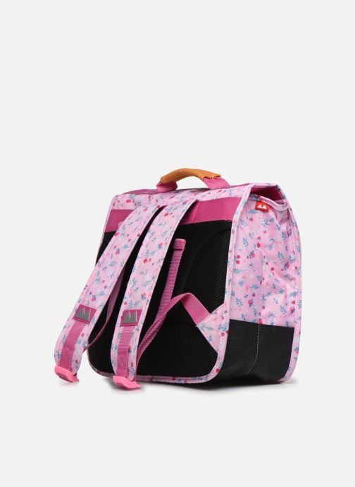 School bags Poids Plume CARTABLE 35CM LIBERTY Pink view from the right
