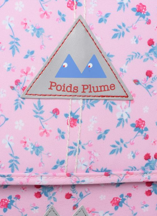 School bags Poids Plume CARTABLE 35CM LIBERTY Pink view from the left