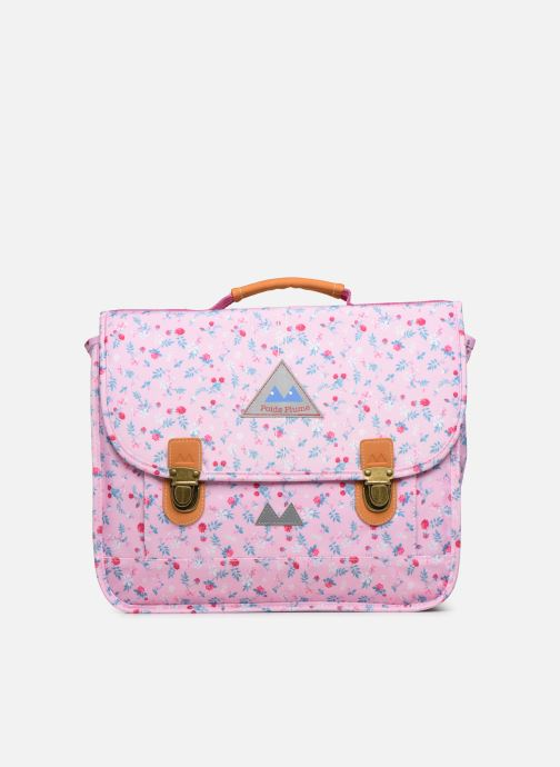 School bags Poids Plume CARTABLE 35CM LIBERTY Pink detailed view/ Pair view