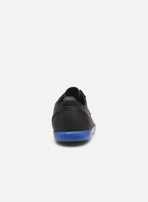 Chaussures à lacets Camper Jim K100084 Noir vue droite