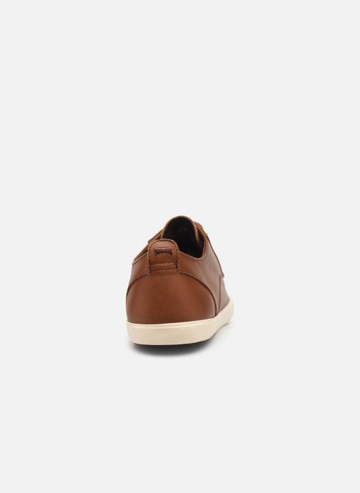 Chaussures à lacets Camper Jim K100084 Marron vue droite