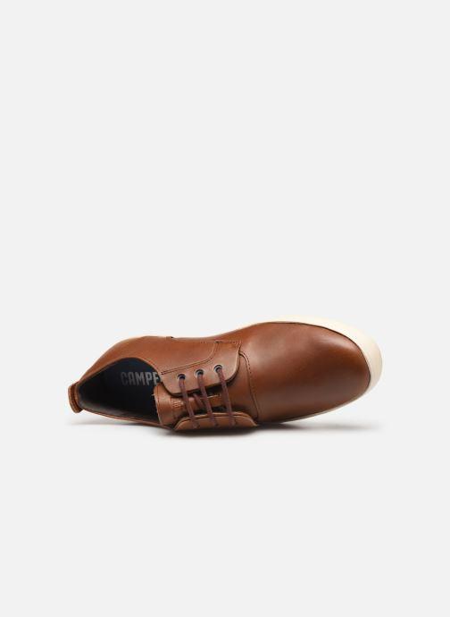 Chaussures à lacets Camper Jim K100084 Marron vue gauche