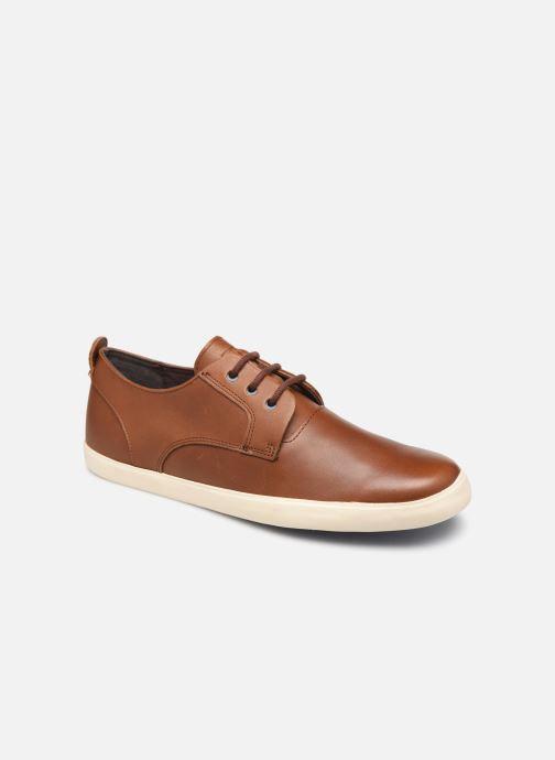 Chaussures à lacets Camper Jim K100084 Marron vue détail/paire