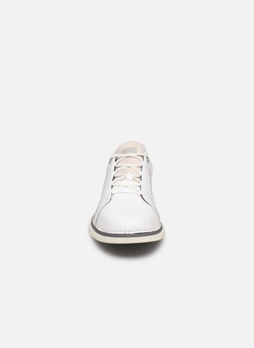 Scarpe con lacci Camper Nixie Bianco modello indossato