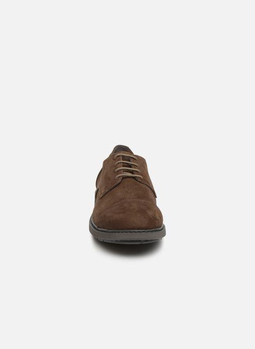 Chaussures à lacets Camper Neuman K100299 Marron vue portées chaussures