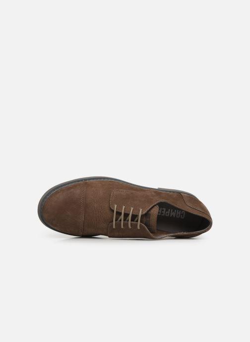 Chaussures à lacets Camper Neuman K100299 Marron vue gauche