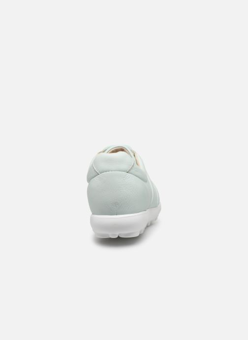 Trainers Camper Pelotas Mistol Blue view from the right