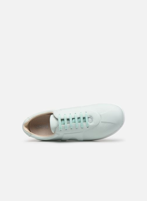 Trainers Camper Pelotas Mistol Blue view from the left