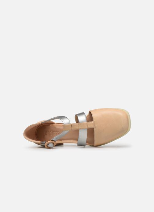 Sandali e scarpe aperte Camper Kobo K200332 Beige immagine sinistra