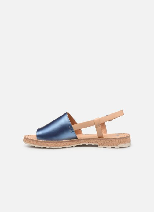 Sandalen Camper PimPom K200380 blau ansicht von vorne