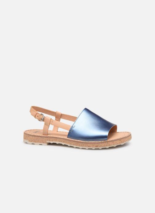 Sandalen Camper PimPom K200380 blau ansicht von hinten