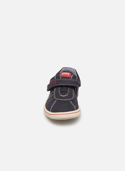 Sneakers Camper Uno FW  K800083 Azzurro modello indossato
