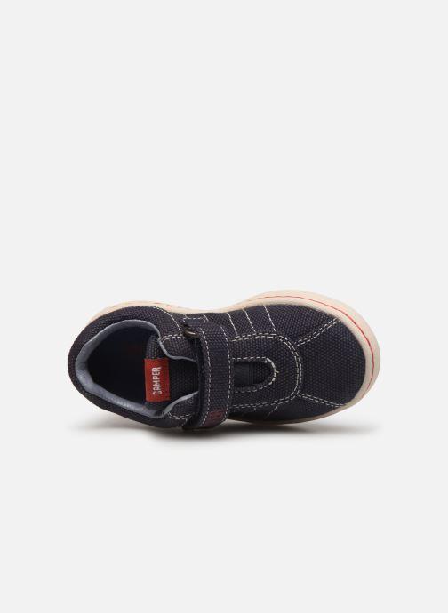 Sneakers Camper Uno FW  K800083 Azzurro immagine sinistra