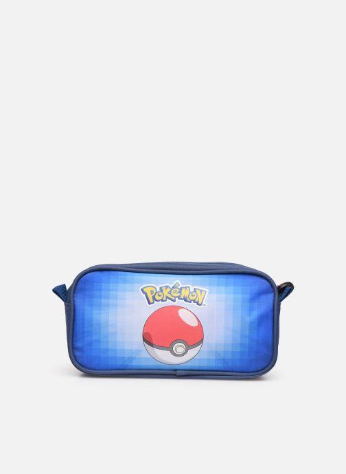 Scolaire Pokemon TROUSSE 2 COMPARTIMENTS POKEMON Bleu vue face