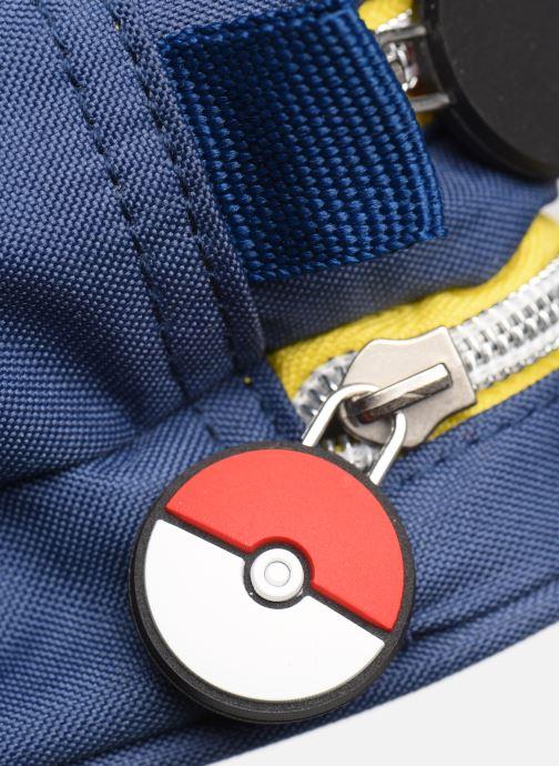 Scolaire Pokemon TROUSSE 2 COMPARTIMENTS POKEMON Bleu vue gauche