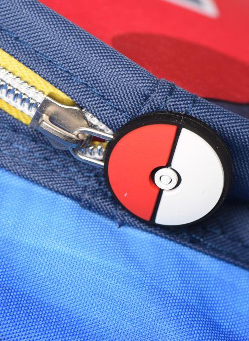 Scolaire Pokemon SAC A DOS 2 COMPARTIMENTS POKEMON Bleu vue gauche