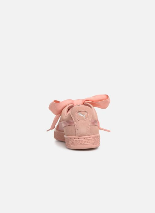 Baskets Puma W Suede Heart Ep Rose vue droite