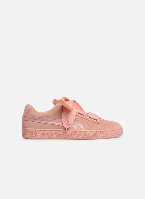 Sneakers Puma W Suede Heart Ep Rosa immagine posteriore