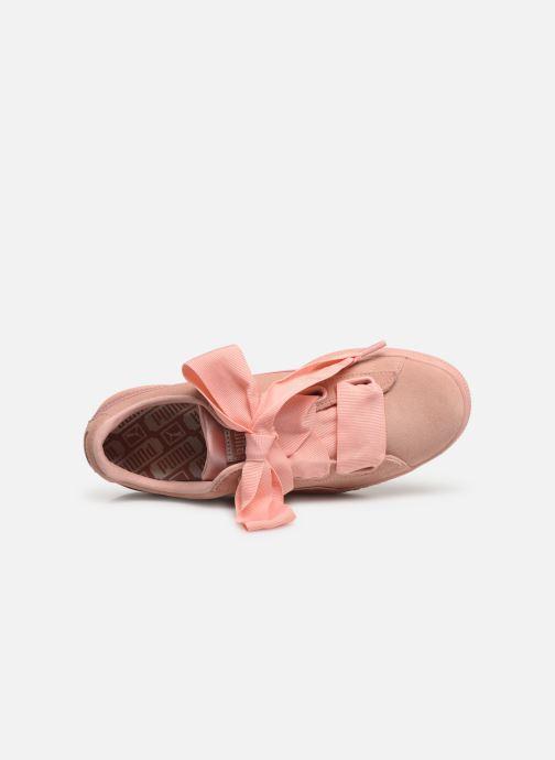 Sneakers Puma W Suede Heart Ep Roze links
