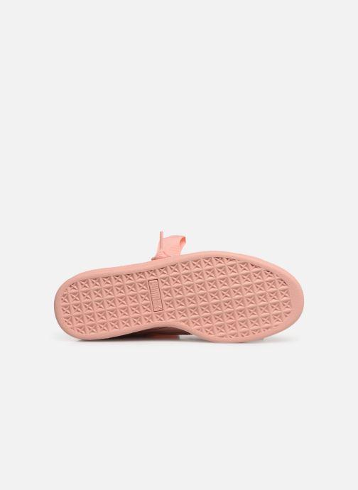 Sneakers Puma W Suede Heart Ep Rosa immagine dall'alto