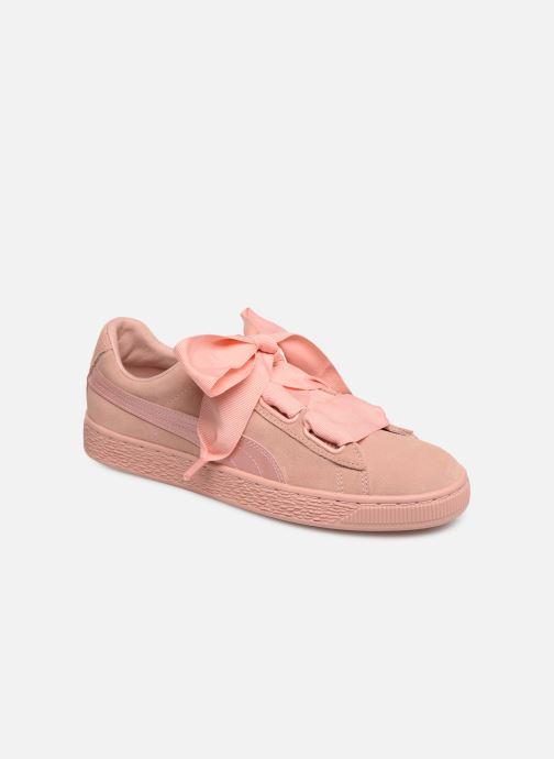 Sneakers Puma W Suede Heart Ep Roze detail