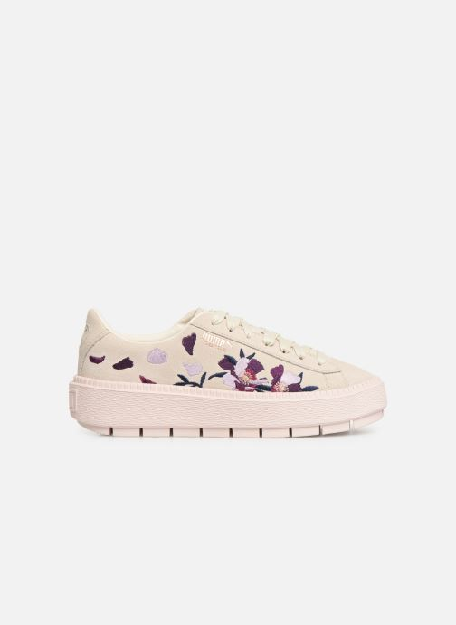 Sneakers Puma Wn Platform Trace Flowery Wit achterkant