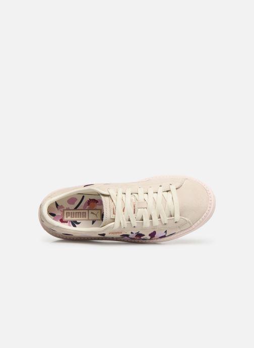 Sneakers Puma Wn Platform Trace Flowery Wit links