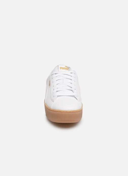 Baskets Puma Wns Vikky Platform Ns Blanc vue portées chaussures