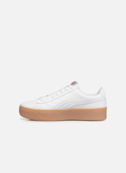 basket puma vikky platform blanche