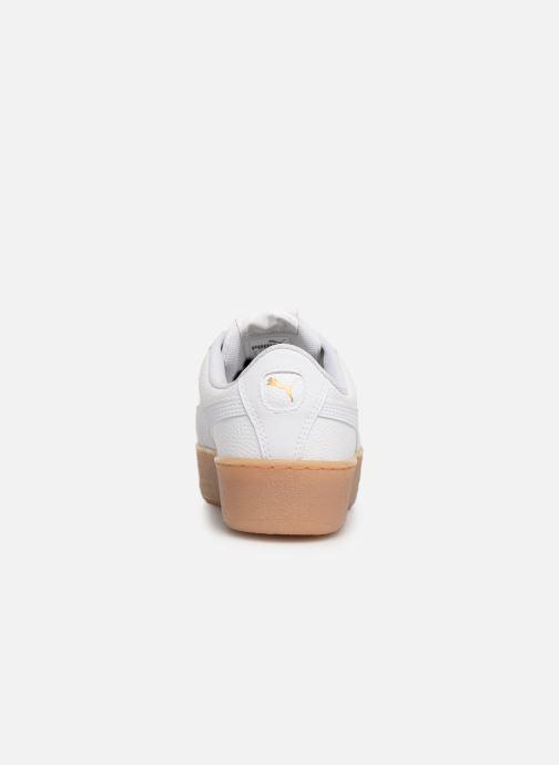 Baskets Puma Wns Vikky Platform Ns Blanc vue droite