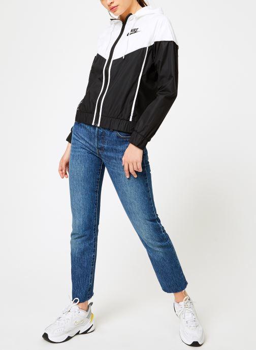 Vêtements Nike Veste Windrunner Femme Nike Sportswear Noir vue bas / vue portée sac