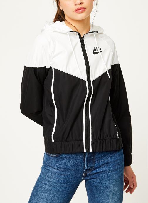 Kleding Nike Veste Windrunner Femme Nike Sportswear Zwart voorkant