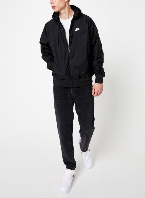 Vêtements Nike Veste Windrunner Homme Nike Sportswear Noir vue bas / vue portée sac