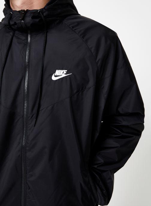 Vêtements Nike Veste Windrunner Homme Nike Sportswear Noir vue face