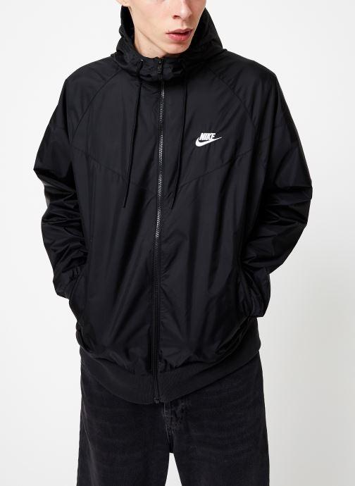 Vêtements Nike Veste Windrunner Homme Nike Sportswear Noir vue droite