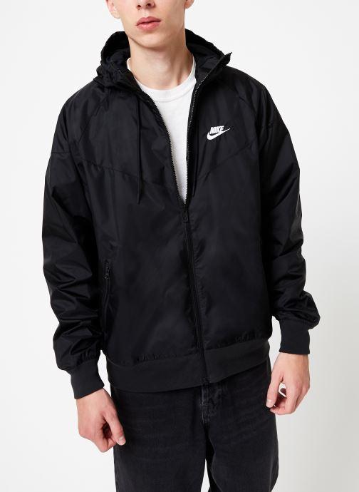 Vêtements Nike Veste Windrunner Homme Nike Sportswear Noir vue détail/paire