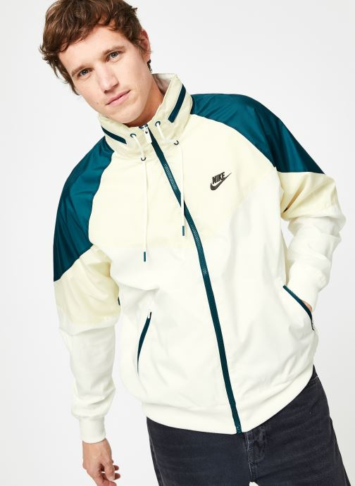 Kläder Nike Veste Windrunner homme Nike Sportswear HD + Vit detaljerad bild på paret