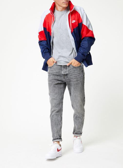 Vêtements Nike Veste Windrunner homme Nike Sportswear HD + Bleu vue bas / vue portée sac