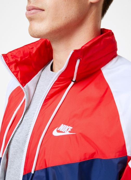 Vêtements Nike Veste Windrunner homme Nike Sportswear HD + Bleu vue face