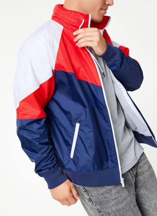 Vêtements Nike Veste Windrunner homme Nike Sportswear HD + Bleu vue détail/paire