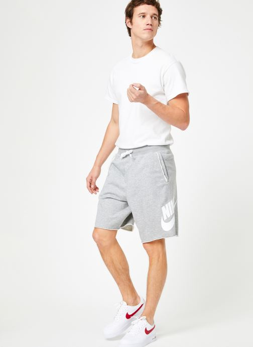 Vêtements Nike Short Jersey Alumni Homme Nike Sportswear Gris vue bas / vue portée sac