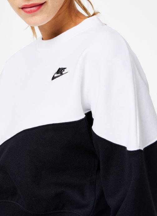 Kleding Nike Sweat Molleton Femme Nike Sportswear Heritage Zwart voorkant