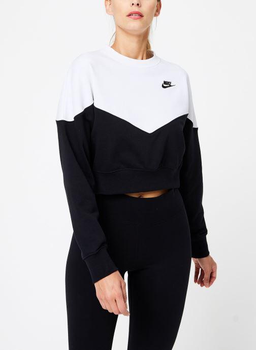 Kleding Nike Sweat Molleton Femme Nike Sportswear Heritage Zwart rechts