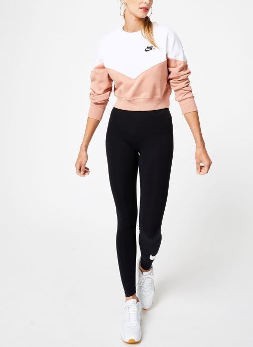 Vêtements Nike Sweat Molleton Femme Nike Sportswear Heritage Rose vue bas / vue portée sac