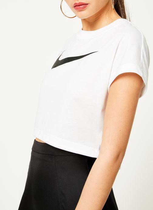 Kleding Nike Tee-Shirt court Femme Nike Sportswear Wit voorkant