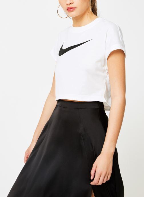 Kleding Nike Tee-Shirt court Femme Nike Sportswear Wit rechts