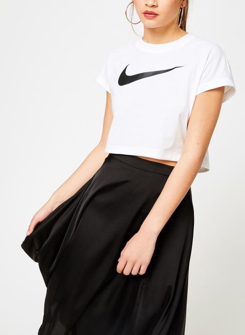 Nike Tee Shirt court Femme Nike Sportswear Tøj 1 Hvid hos